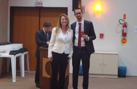 Diogo Leandro Schreiber e dra. Valesca Janke
