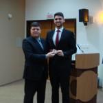 Matheus Hetterich Fernandes e Dr. Antonio Naschenweng Neto