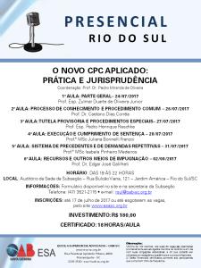 CAP 021 - RIO DO SUL