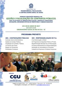 Curso de Gestão e Fiscalização de Contratos Públicos