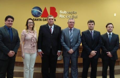 Novos Advogados, Diretoria e CAASC