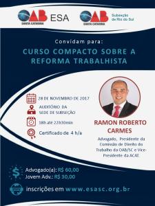 RIO DO SUL - PROF. RAMON