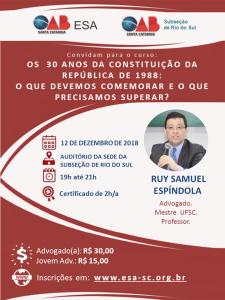 RIO DO SUL - PROF. RUY